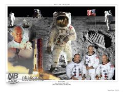Created for Buzz Aldrin. Signed copies of this image are currently to buy from Buzz Aldrin's web site. buzzaldrin.com