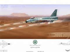 'Lightning Strike', Royal Saudi Air Force F.53 firing rockets at ground targets.