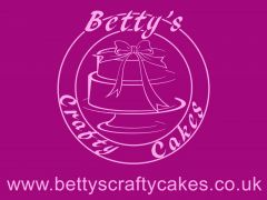 This logo was created for bespoke cake company www.bettyscraftycakes.co.uk